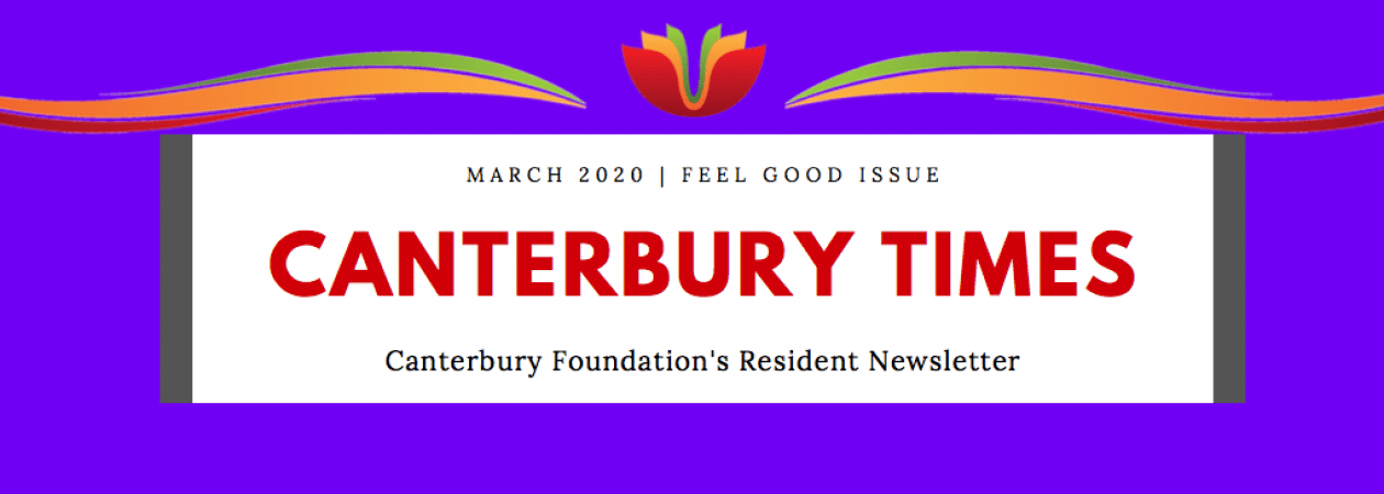 Canterbury Times: Feel Good Issue