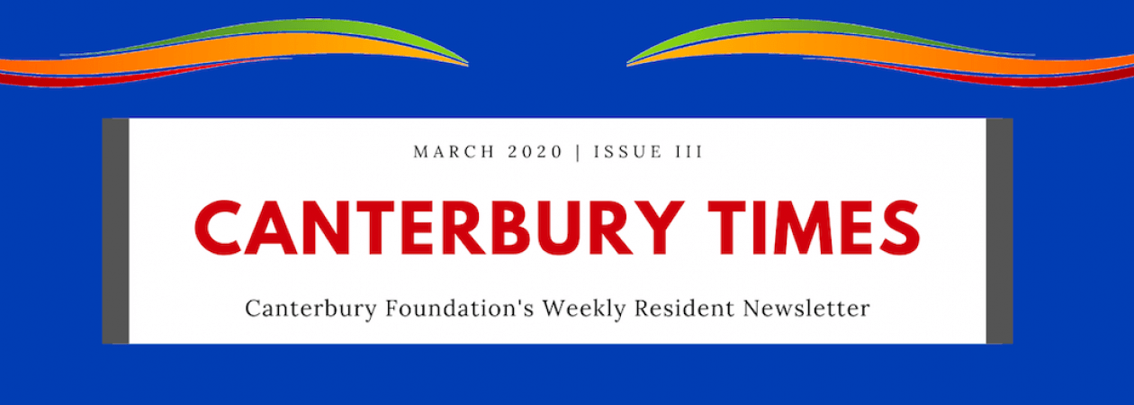CANTERBURY TIMES: APRIL 1