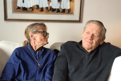 Valentine's at Canterbury: Charlie and Gordon Macpherson