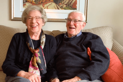 Valentine's At Canterbury: Nellie and Tom Houlihan